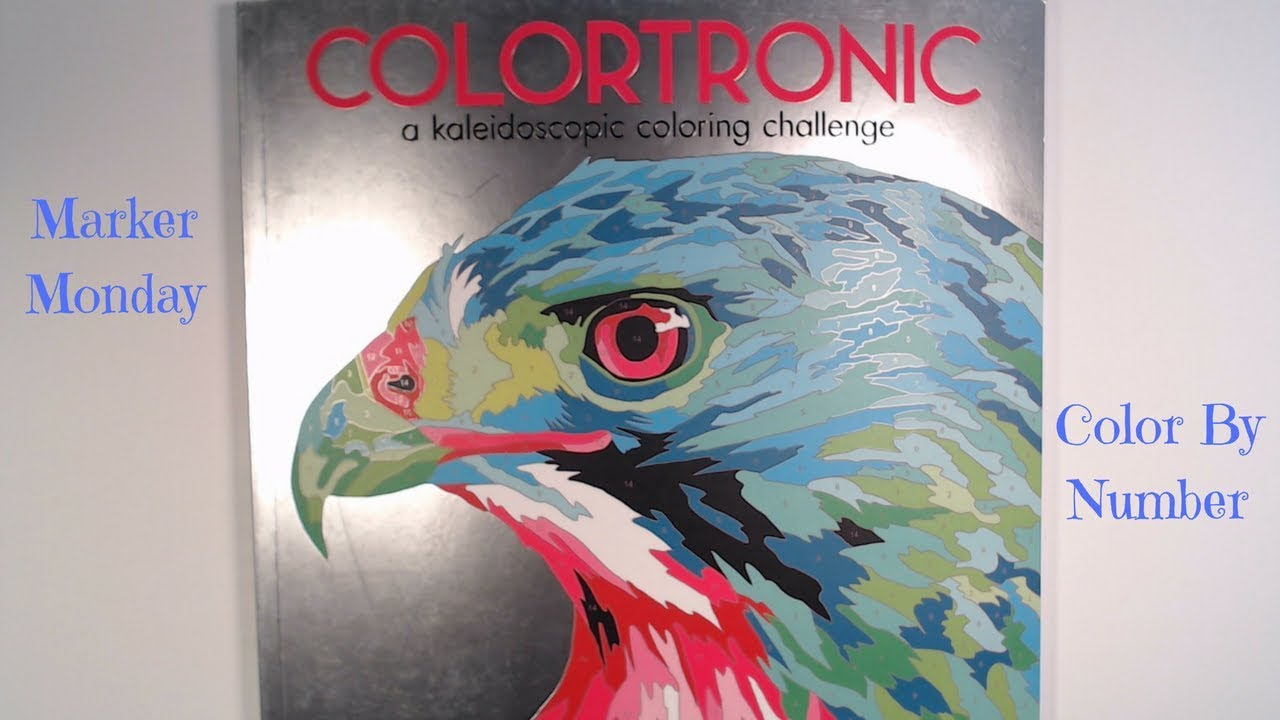 Colortronic Color By Number//Sharpie & Faber-Castell Pitt Artist ...