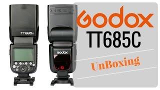 godox TT685C UnBoxing