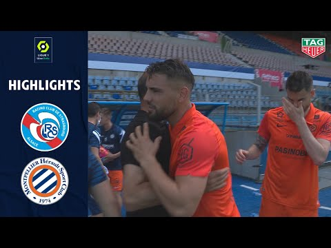 Strasbourg Montpellier Goals And Highlights