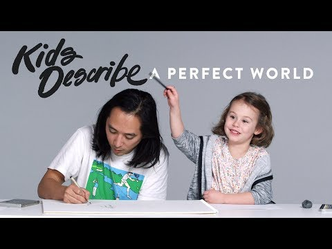 Kids Describe A Perfect World to Koji the Illustrator