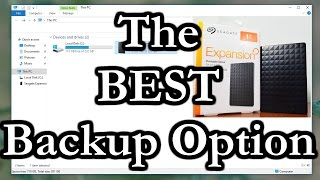 The Best Free Way To Backup Files To An External Drive