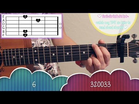 """Perfect"" - Ed Sheeran EASY Guitar Tutorial/Chords"