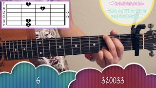 """Perfect"" - Ed Sheeran EASY Guitar Tutorial [Chords/Strumming/Picking/Cover]"