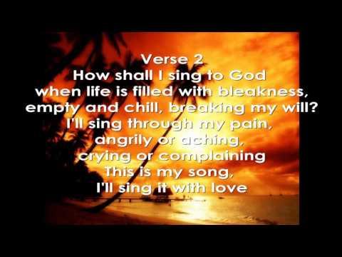How Shall I Sing to God (With Lyrics) - Himig Heswita (David Haas)