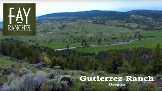 SOLD | Oregon Cattle Ranches For Sale | Gutierrez Ranch | Fay Ranches