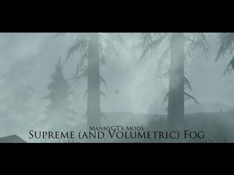 letzte Auswahl zahlreich in der Vielfalt helle n Farbe Supreme and Volumetric Fog SE at Skyrim Special Edition ...