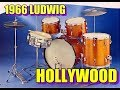 1966 Ludwig Hollywood Drum Set - Sound Test and Gear Reveiw