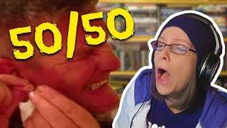 BIGGEST EAR ZIT POPPED! Reddit 50/50 CHALLENGE #3