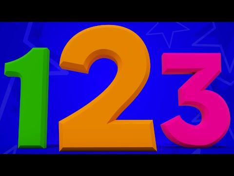 the numbers song   123 song   learn numbers   nursery rhymes   kids songs
