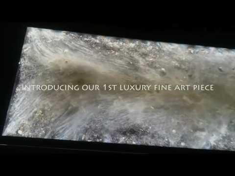 The 1st fully illuminated crystal & mineral luxury art piece is revealed!