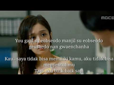 Ost Drakor Tersedih  Fated To Love You- Goodby My Love-Ailee (Lyric) + Terjemahan Indo