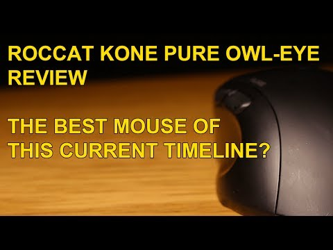 ROCCAT KONE PURE-OWL EYE REVIEW - DO CAPITAL LETTERS GET MORE VIEWS?