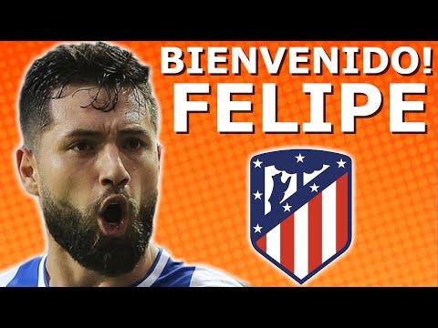 Bienvenido A Atletico Madrid Felipe Augusto! Goodbye FC Porto • HD