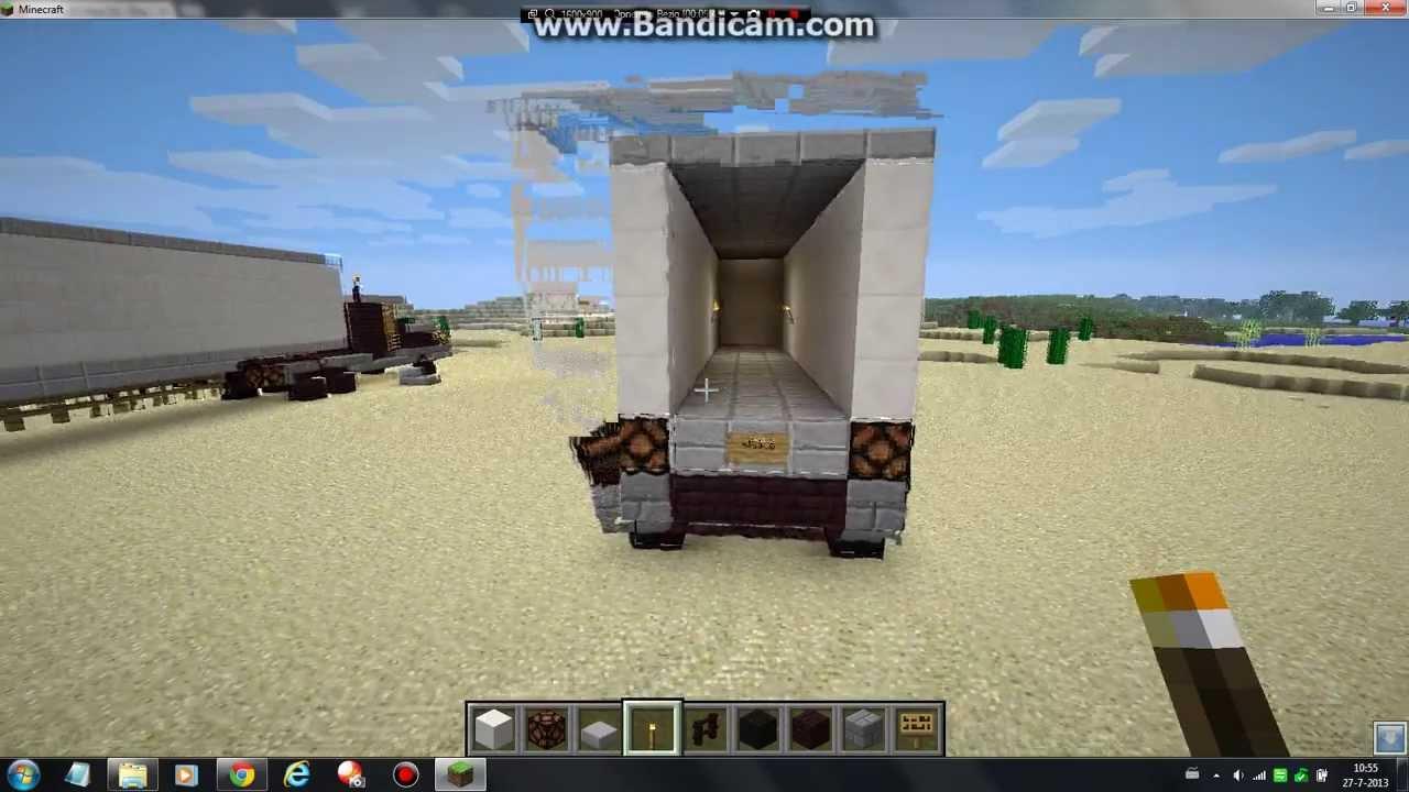Minecraft Vrachtwagen Deel 2 Youtube