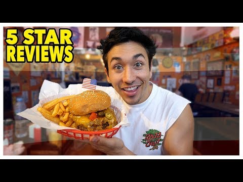 Eating At The BEST Reviewed American Restaurant In Thailand (5 Stars)