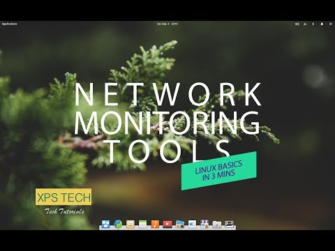 NETWORK MONITORING TOOLS : LINUX BASICS IN 3 MINS