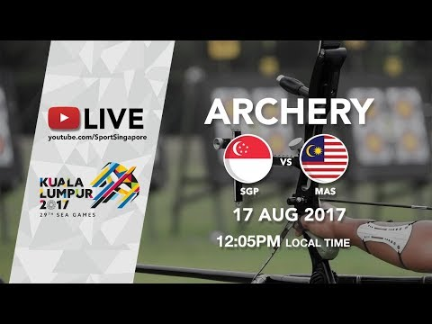 Archery Gold Medal Match: Singapore 🇸🇬 vs 🇲🇾 Malaysia | 29th SEA Games 2017