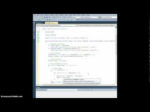 Neural Network Tutorial - Ch. 13.1: Character Recogniti ...
