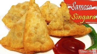 Easy Samosa Recipe | Singara | Bengali Singara Recipe | How to make Samosa? Vegetable Samosa Recipe