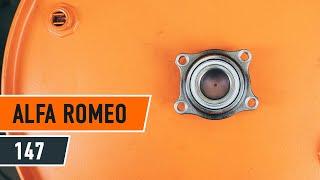 Vzdrževanje Alfa Romeo 147 937 - video priročniki