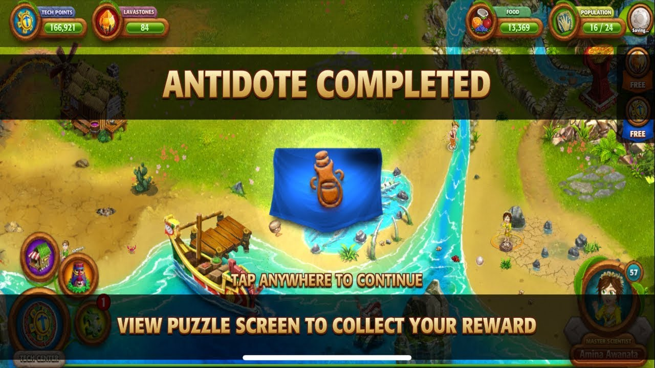 Virtual Villagers Origins 2~ Completing Puzzle 9 & making antidote by  Random Game Guides