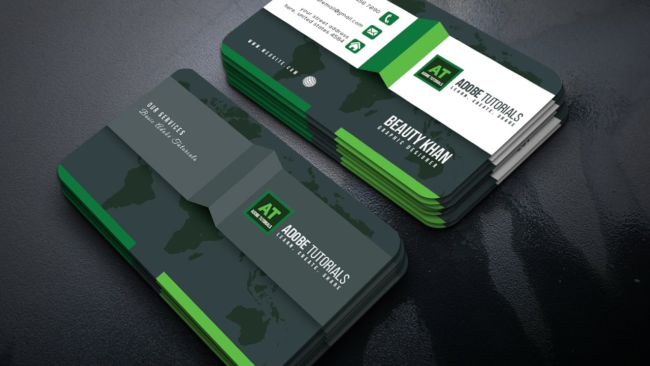 How To Create A New Business Card Design In Illustrator
