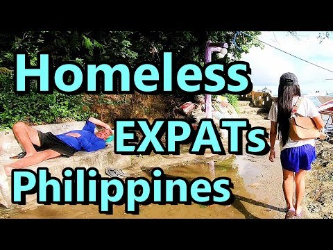 Homeless Foreigners in Asia Philippines Sabang Beach