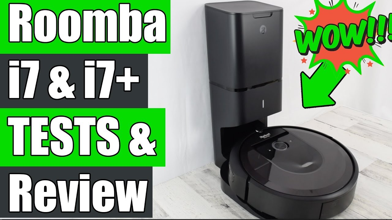 Irobot Roomba I7 Robot Vacuum Review Amp Tests W Clean