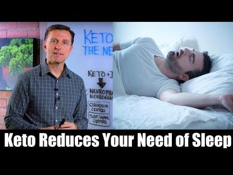 Keto & Intermittent Fasting REDUCES the Need For Sleep