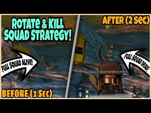 ROTATE & KILL Full SQUAD With No EFFORTS | New Skilled STRATEGY To Become PRO | PUBG MOBILE!