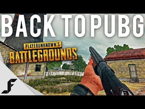 Back to PUBG!