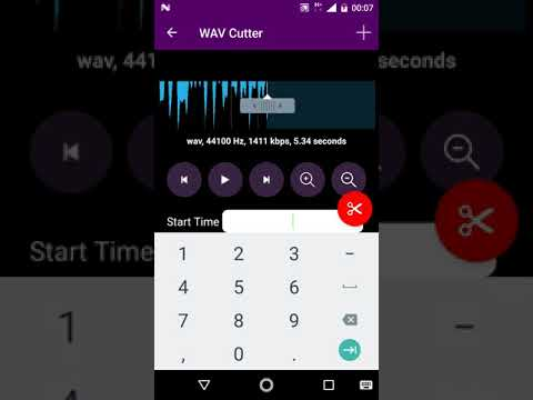 WAV Cutter And Joiner for android