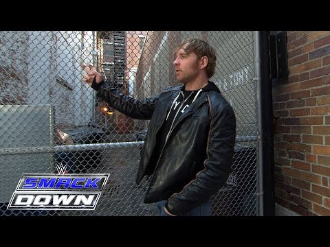 Dean Ambrose hits the streets of Cincinnati: March 17, 2016