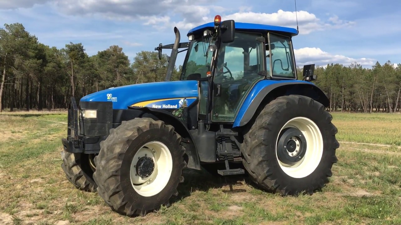 New Holland TM 140 tractor Sound + Technical data