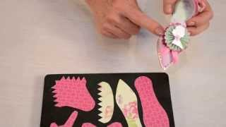 Crafting with Brenda Walton: How to make a paper shoe