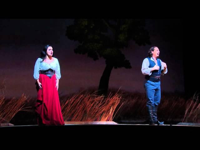 L'Elisir d'Amore: Act II Duet -- Matthew Polenzani & Anna Netrebko (Met Opera)
