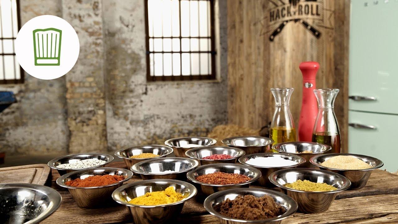 Rubs Und Marinaden Fürs Grillen Selber Machen Chefkochde Youtube