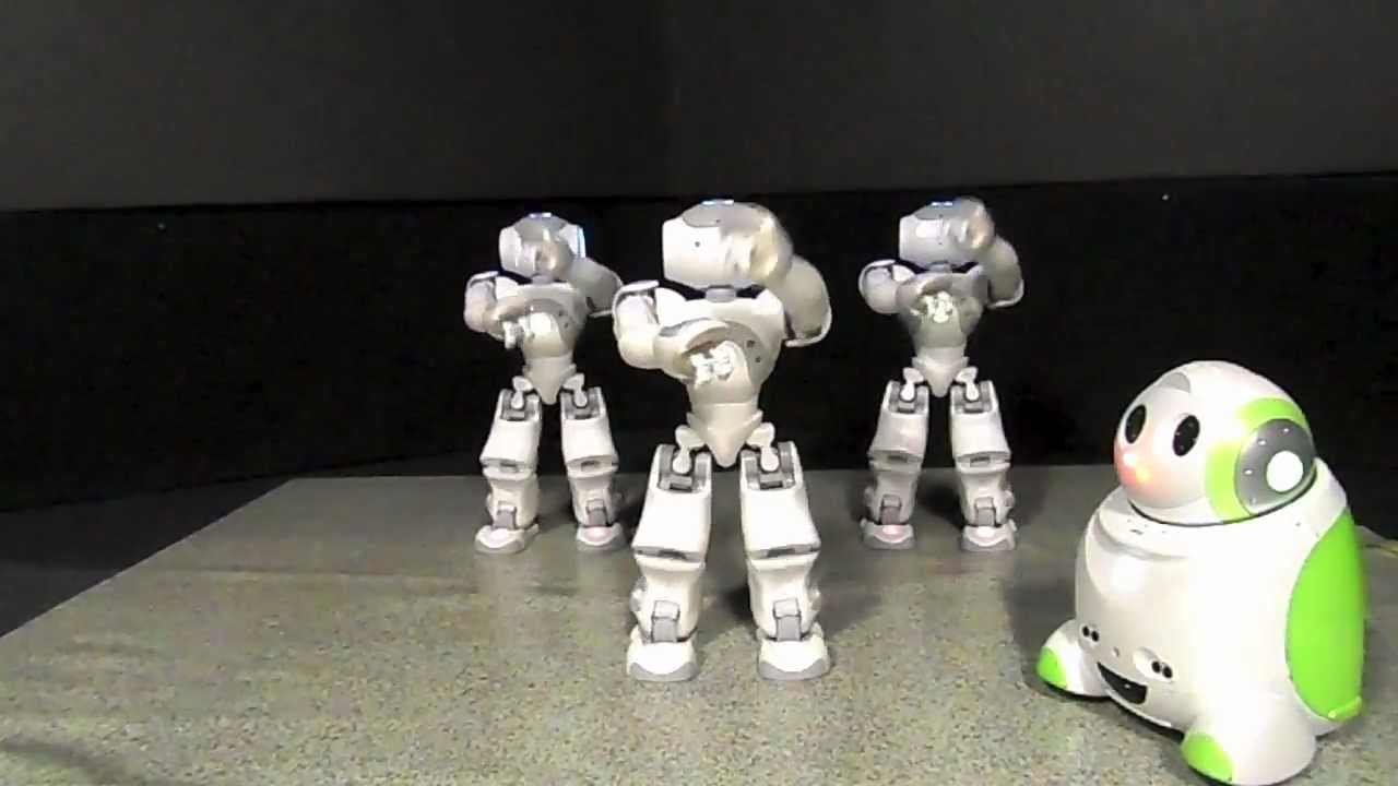 Nao Robot Dances Gangnam Style Youtube
