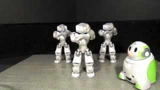 Nao Robot Dances Gangnam Style