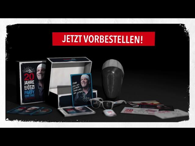 Das neue Best-Of Album von DJ Ötzi - JETZT VORBESTELLEN
