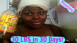 HOW I PLAN TO LOSE ANOTHER 30 LBS IN 30 DAYS (ROUTINE)