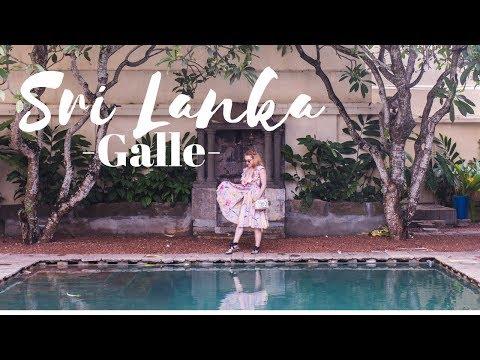 Sri Lanka Travel Vlog: Galle