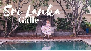 Sri Lanka Travel Vlog: Galle