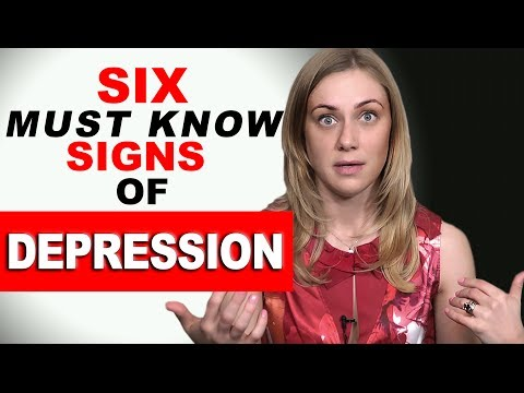 6 MUST KNOW SIGNS of DEPRESSION! psychology with therapist Kati Morton | mental health & symptoms