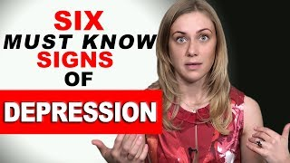 Must Know Signs Depression Psychology Kati Morton