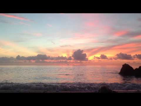 Sunrise at Deerfield Beach, Florida