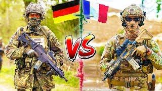 ГЕРМАНИЯ vs ФРАНЦИЯ ⭐ СРАВНЕНИЕ АРМИИ ⭐ Bundeswehr VS Armée Française; Бундесвер