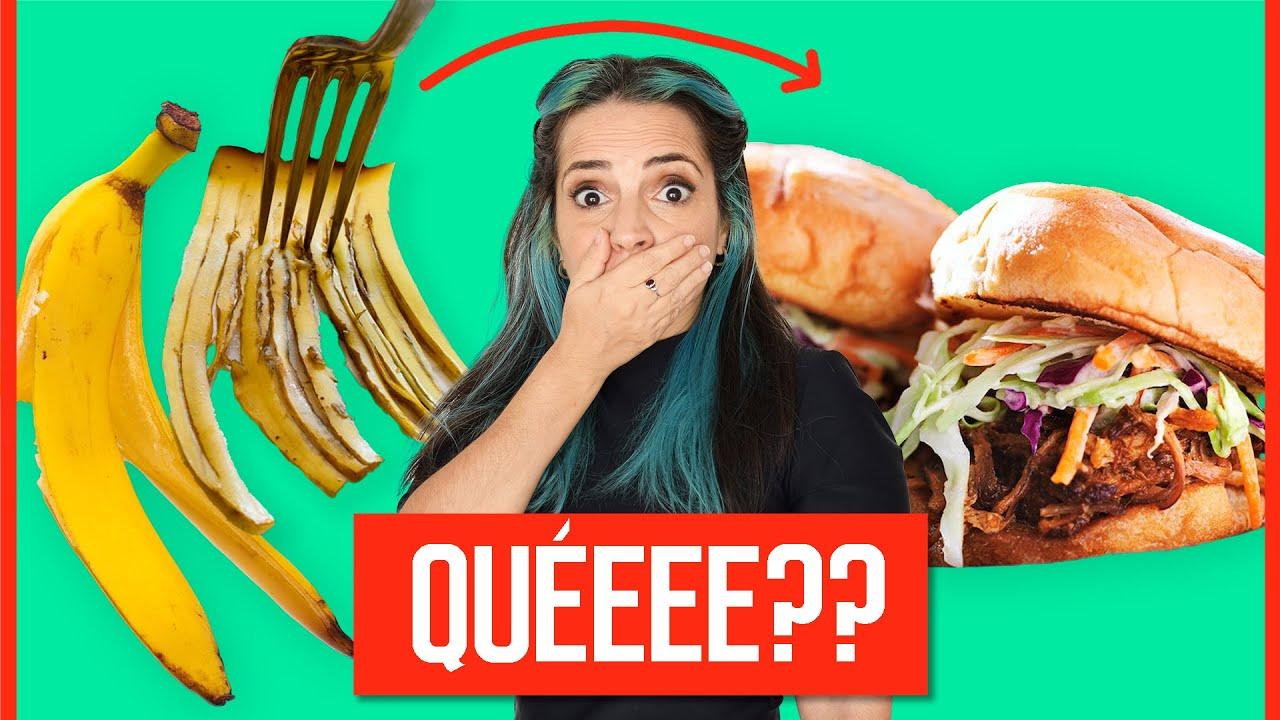 Pruebo La Última Moda: Comer Cáscara De Banana (Plátano) - Puede Fallar
