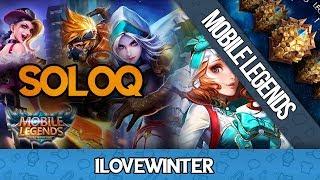 ●[AO VIVO] MOBILE LEGENDS - #SOLOQ