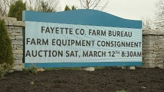 Fayette County  Farm Bureau Machinery Consignment Auction